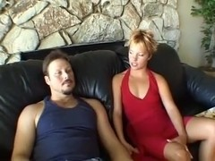 Depraved coed with a round ass loves reverse cowgirl position