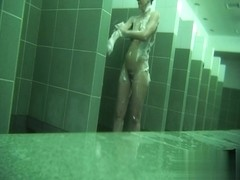 Hidden cameras in public pool showers 564