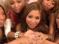 Crazy Japanese chicks Mana Izumi, Mary Hayakawa, Rio Sakura in Best JAV censored POV, Cumshots mov.