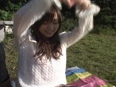 Miyu Hoshino Sexy Asian schoolgirl gets a fucking