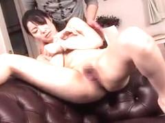 Horny Japanese slut Yuna Aino in Exotic Fingering, Masturbation/Onanii JAV movie
