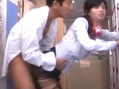Fabulous Japanese chick Nozomi Aso in Crazy JAV clip
