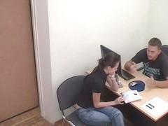 Hidden office porn