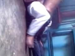 Desi couple caught fucking on hidden cam