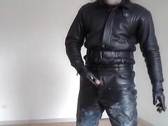 leather fire gel