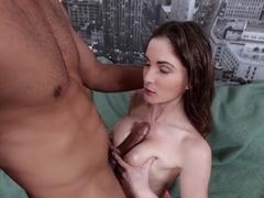 Horny pornstar Molly Jane in Exotic Big Tits, Interracial adult clip