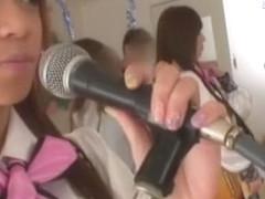 Exotic Japanese girl Yu Asakura, Nozomi Ooishi, Shelly Fujii in Crazy Compilation JAV scene