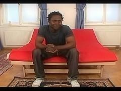 Gay hunks in kinky interracial gay sex video