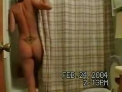Shower blowjob and ass fucking