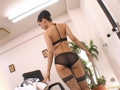 Maria Ozawa Hot Japanese doll is a horny secretary