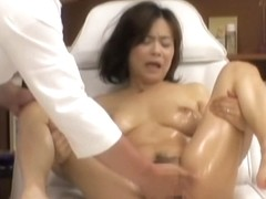 Naughty asian slut fucked by massagist in sexy voyeur movie