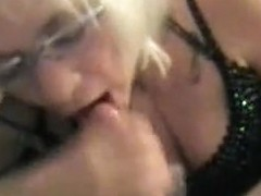 Funky gramma cum in mouth