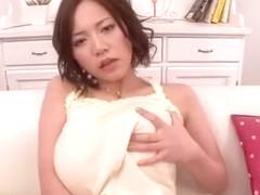 Incredible Japanese girl Ruri Saijou in Horny MILFs, Big Tits JAV video