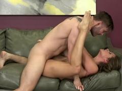Incredible pornstars Cassidy Klein, Axel Aces in Crazy Cumshots, MILF adult scene