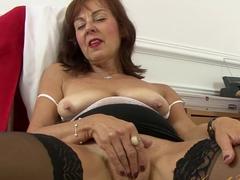 Horny pornstar in Hottest Stockings, Redhead sex scene