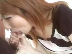 Best Japanese girl Reon Otowa in Incredible Blowjob/Fera, Cumshots JAV clip