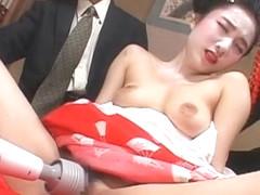 Amazing Japanese girl in Hottest Doggy Style JAV scene
