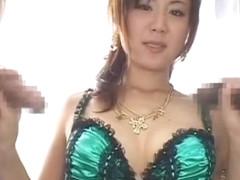 Incredible Japanese slut Maki Hoshino in Fabulous Threesomes, Cumshots JAV video