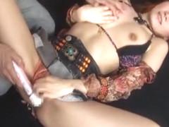 Horny Japanese model Yuna Hasegawa, Hotaru Yukino, Kana Yuuki in Hottest Dildos/Toys, Cunnilingus .