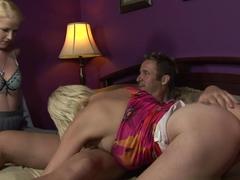 Crazy pornstars Anita Blue, Raquel Sieb in Horny Swallow, Threesomes adult scene