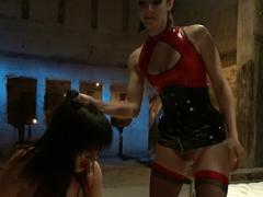 Fabulous big ass, fetish adult video with hottest pornstars John Strong, Bobbi Starr and Ashli Ori.