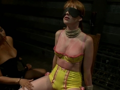 Incredible lesbian, redhead porn movie with best pornstars Isis Love and Marie McCray from Whipped.