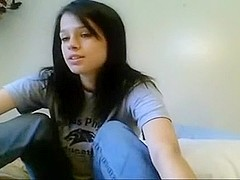 Sexy webcam strip