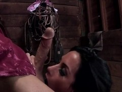 Johnny Sins penetrate an awesome brunette whore Randi Wright