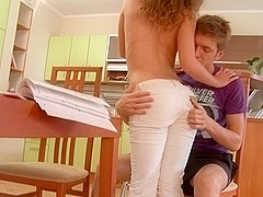Legal Age Teenager angel tempted into sexual anal sex