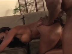 Black demon attacks luscious Nyomi Banxxx