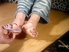 mature ticklish toes 2
