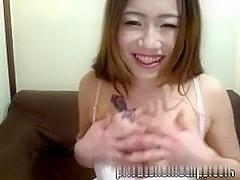 japanese cute beauty cute mao masturbation shows fur pie