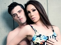 Lance Hart & Sunday Valentina in Aubrey Kate's TS Fantasies Video