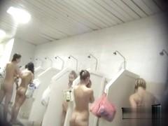 Hidden cameras in public pool showers 891
