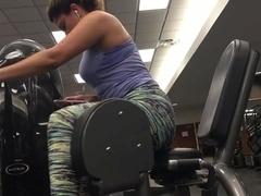 Candid spandex gym #06