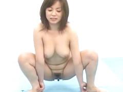 Horny Japanese chick Yuuri Nanase, Aya Sakuraba in Best Dildos/Toys, Squirting/Shiofuki JAV video
