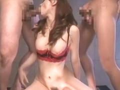 Fabulous Japanese whore Akiho Yoshizawa in Exotic Masturbation/Onanii, Facial JAV clip