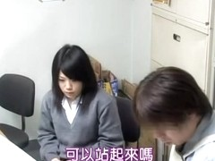 Hot voyeur movie in which a japanese student is humped hard
