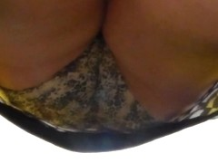 mature coworker getting her coffee 1