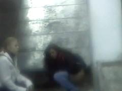 Girls Pissing voyeur video 130