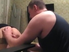 Eating her ass and her pussy