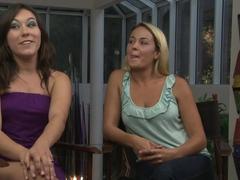 Fabulous pornstars Sinn Sage, Elexis Monroe in Crazy Cunnilingus, Big Tits porn movie