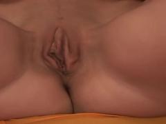 Hottest pornstar Little Caprice in crazy dildos/toys, masturbation porn video