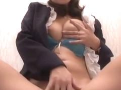 Fabulous Japanese model Yayoi Yanagida in Crazy Fingering, Lingerie JAV clip