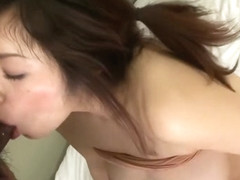 Fabulous Japanese chick in Incredible Amateur, Blowjob/Fera JAV video