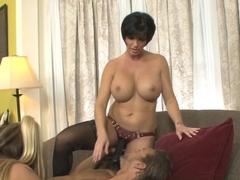 Crazy pornstars Shay Fox, Chris Dano, Joclyn Stone in Incredible Femdom sex scene