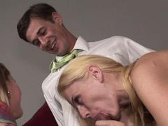Crazy pornstars Darryl Hanah, Kristy West in Hottest MILF, Blowjob sex scene