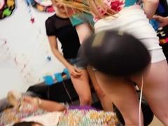 Crashing The Party Girls Ft Melissa Moore,Dolly Leigh,Moka Mora
