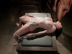 Amazing fetish adult video with exotic pornstars Veruca James and Mickey Mod from Dungeonsex