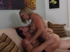 Cougar Brandi Love rides on Tyler Nixon